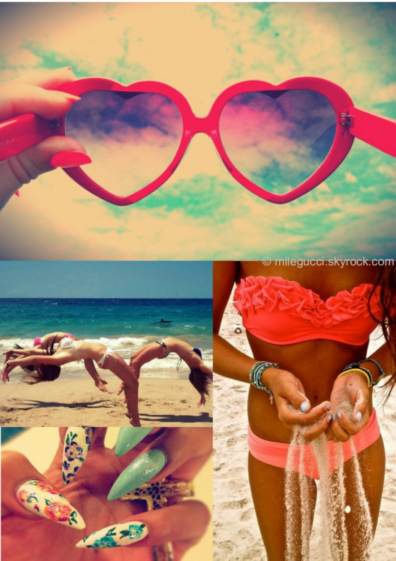 Wednesday ~ Love be tanning ♥