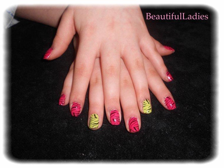 ::: ONGLES ::: Nail art sur les ongles de Jessie :::