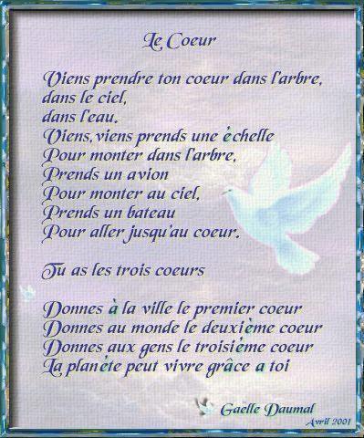 Un Jolie Poeme Jaime La Vieun Monde Fait D Amour