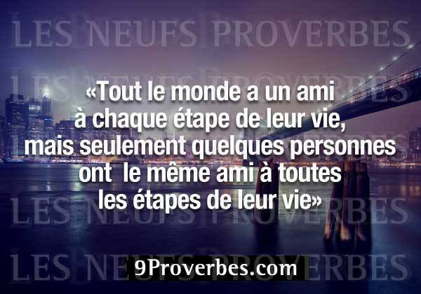 tres joli proverbe
