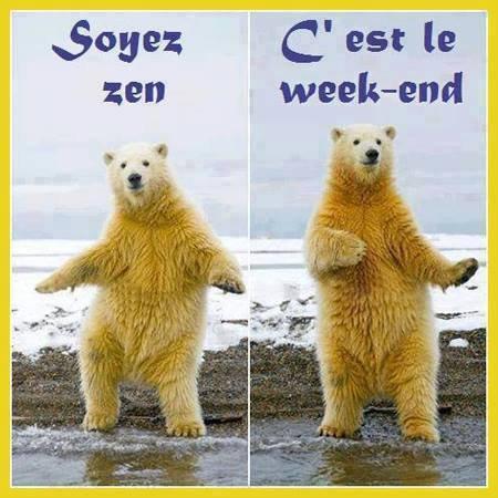 c'est  le  week  end