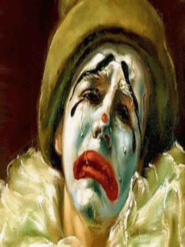 j'aime  les  clowns   triste  ou  gai