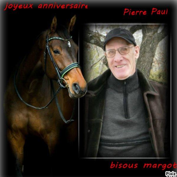 cadeaux pour  Pierre  Paul   joyeux  anniversaire   mon  ami   bisous