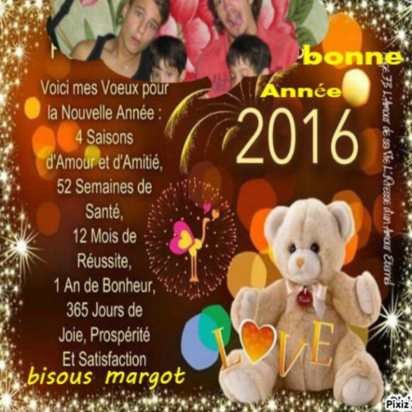bonne année  pour  vous