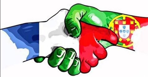 se  soir  la  finale  allez les  bleu  FRANCE  PORTUGAL