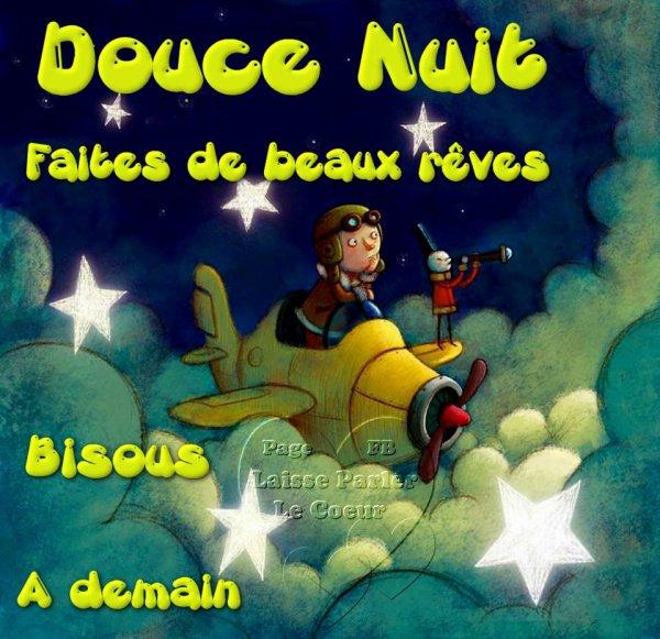 bonne  et  douce  nuit mes amies amis