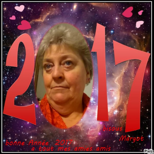 je  vous  présente  tout mes  v½ux  pour  2017  la  santé  bonheur  et  paix