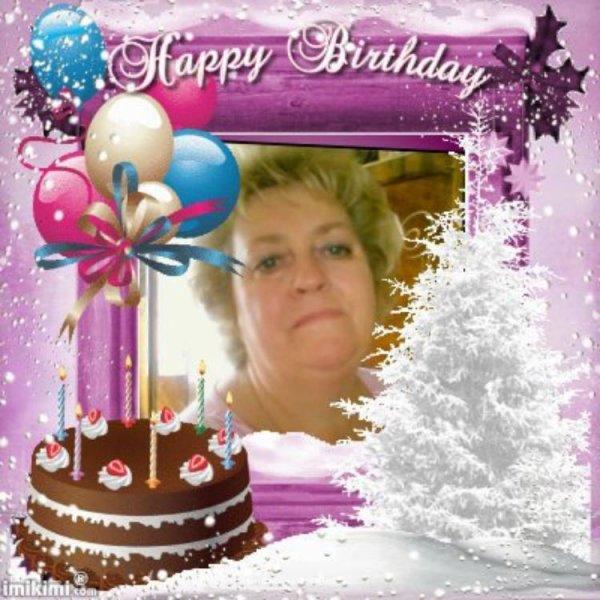 cadeau  reçue  de mon amie  Nadine  blog  49cibeline   pour  mon anniversaire
