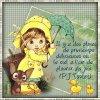 Bonjour et bon dimanche 😉 sous la pluie ☔