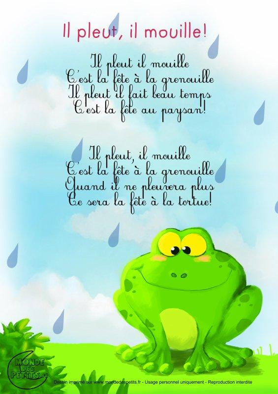 il pleut 😞 il mouille
