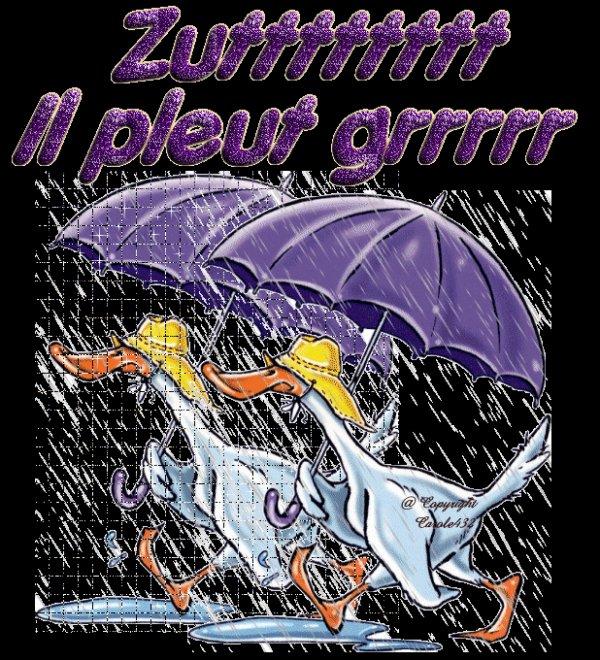 la pluie ☔ encore