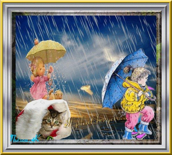 il pleut 😞 chez nous ☔☔☔☔
