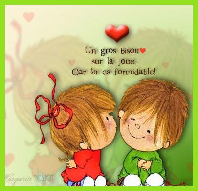 Gros bisous du coeur j 39 aime la vie un monde fait d 39 amour - Un gros coeur d amour ...