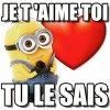 je vous aime 💕