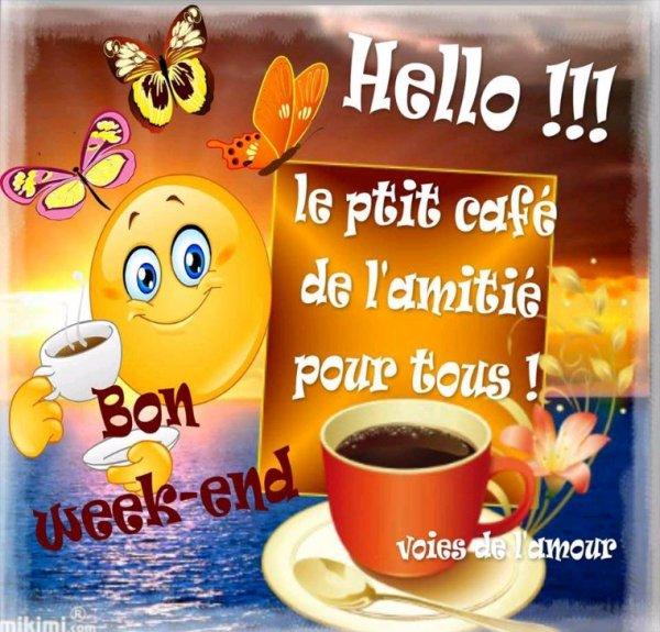 Bonjour tout le monde bon weekend à tous ☺️?