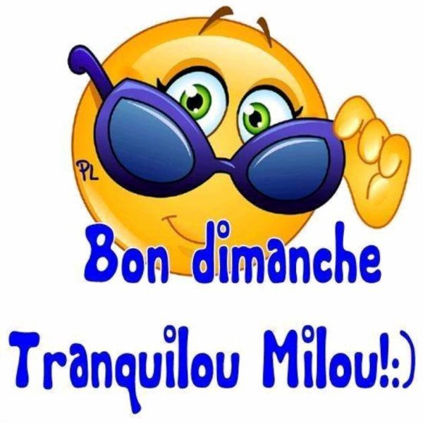 Bon Dimanche bises ☺️