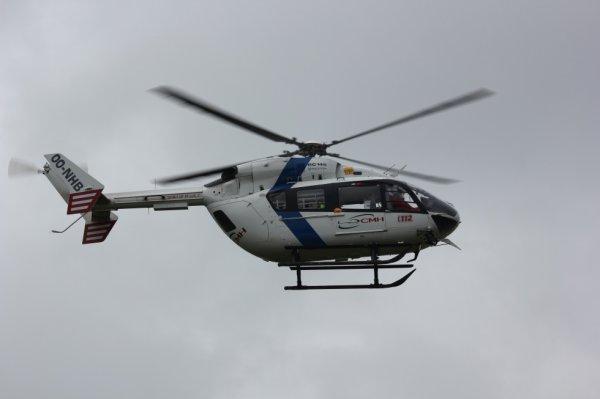 Hélicoptère médicalisé CMH