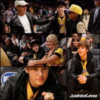 26 Octobre  - Justin avec Jaden Smith au match des Houston Rockets vs Los Angeles Lakers