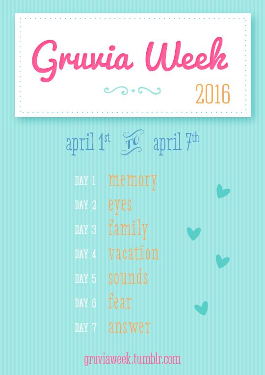 Gruvia Week 2016 !