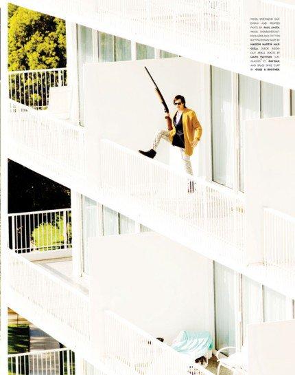 Photoshoots Ian somerhalder Faunlt Magazine