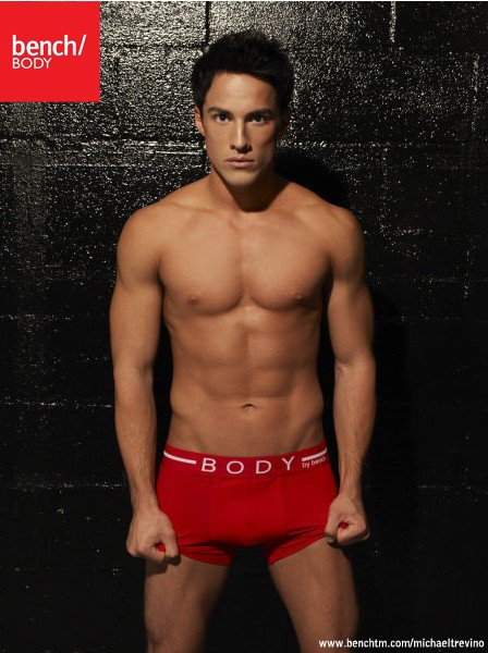 Photoshoots Michael Trevino for Bench Underwear Hot!