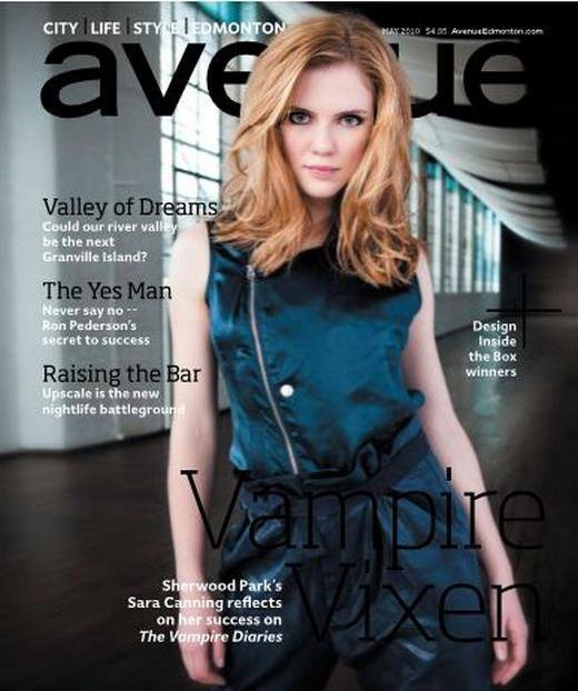 Photoshoots Sara Canning Avenue Magazine