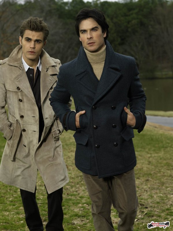 Photoshoots Ian Somerhalder & Paul Wesley GQ Germany Magazine
