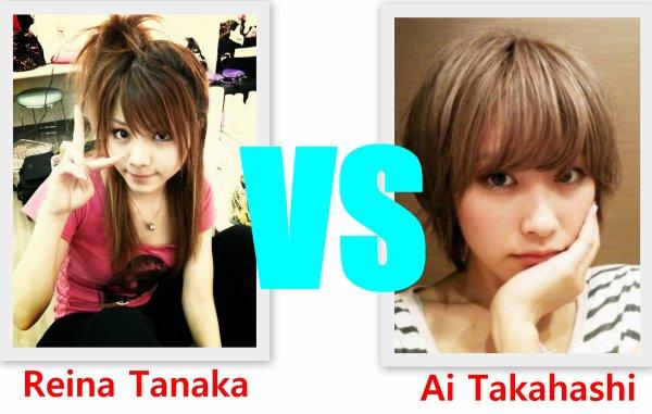 Ai Takahashi VS Reina Tanaka
