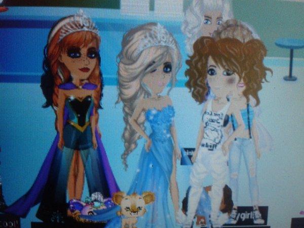 Sur Msp U.K, j'ai rencontré Elsa, et sa soeur, et 1 hackeuse... x)