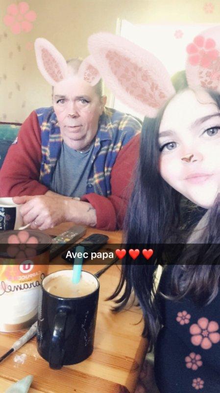 Avec papa ❤️❤️❤️