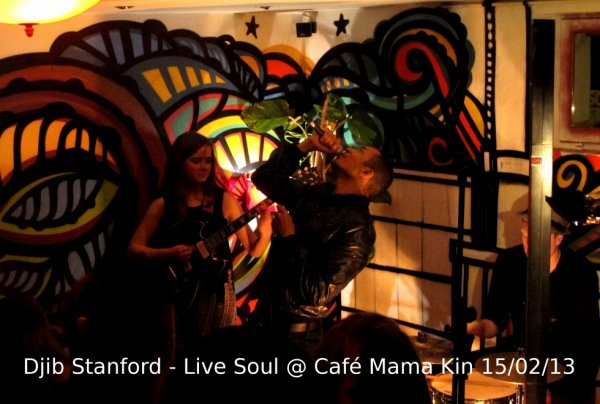 Djib Stanford en concert le 15 février au Café Mama Kin