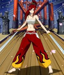Fairy tail no Erza Scarlet
