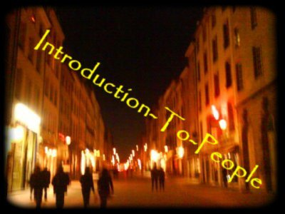 Blog de introduction-to-people