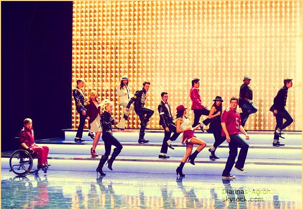 """Voici la promo du prochain épisode de Glee """"Michael"""" (03x11) et le BTS de """"Yes/No"""" (03x10)"""