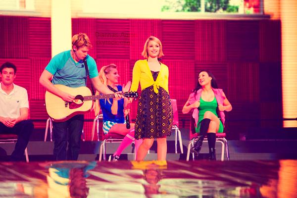 """Découvrez de nouveaux stills du """" Glee The concert movie 3D """" dont le DVD sort ce mercredi"""
