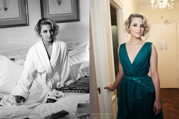 Voici de nouvelles photos de Dianna ce préparant pour se rendre au Gala du Met