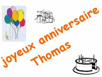 Joyeux Anniversaire Thomas Lecossais N 15 Du Fc Sete 34