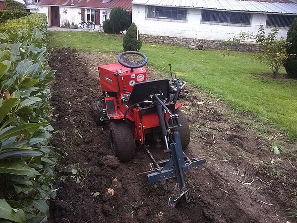Arrachage pommes de terres 2014 fini...!