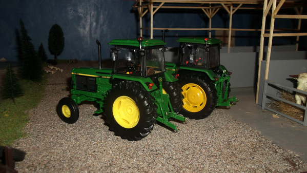 Modification des John Deere 3050 et 3640...!