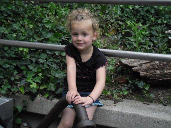 Ma fille Kiéra '4 ans