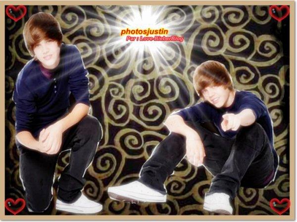 Article spéciale montage ou gif de Justin!!=)