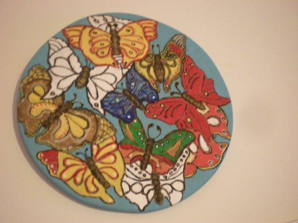 Le papillons...