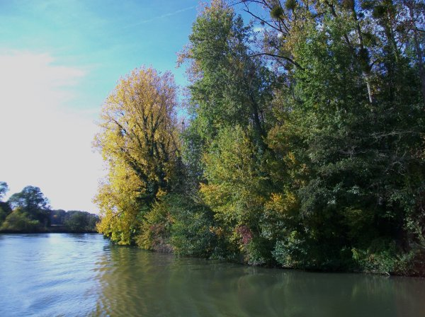 Mon passage sur l'Aisne .
