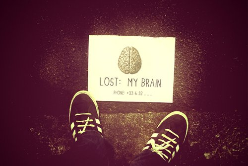 I lost my Brain xD