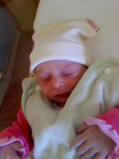 la naissance de ma fille