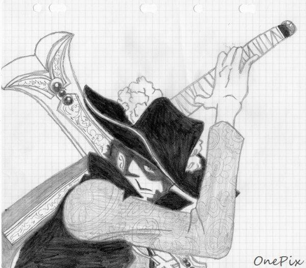 One Piece - Dracule Mihawk