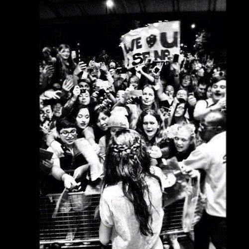 Photo twitter par Selena