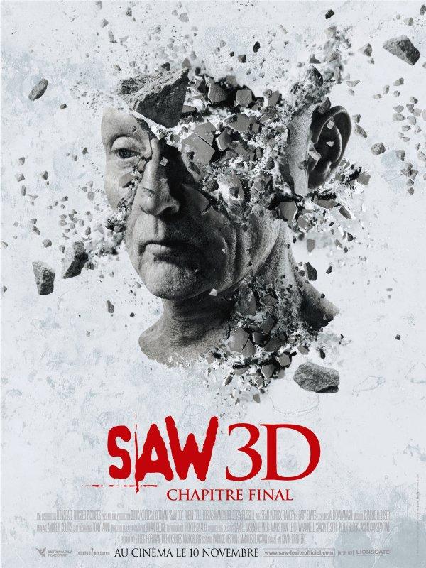 Saw 3D : en salle aujourd'hui !