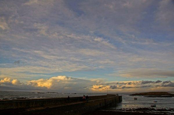 Portivy, la côte sauvage.