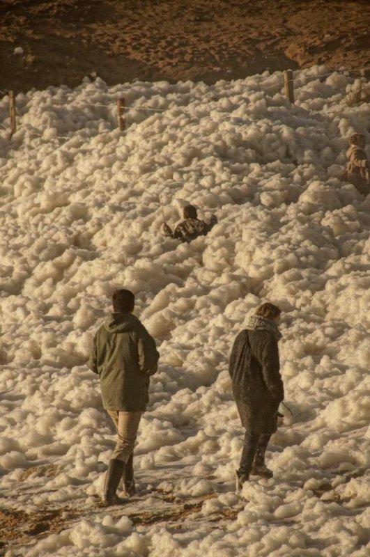 Labyrinte d'écume d'une hauteur de 1.20m.